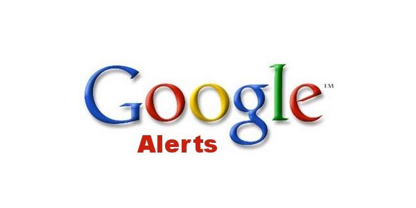 Ferramentas Google: Alerts